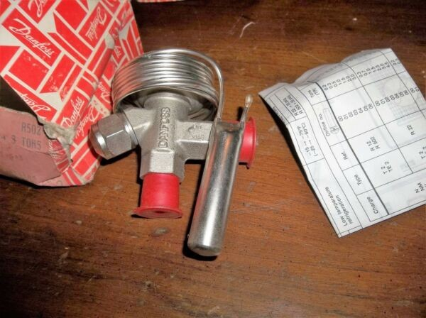 DANFOSS 068-7212 068-3212 THERMAL EXPANSION VALVE R502 1/3-3 TONS TY2