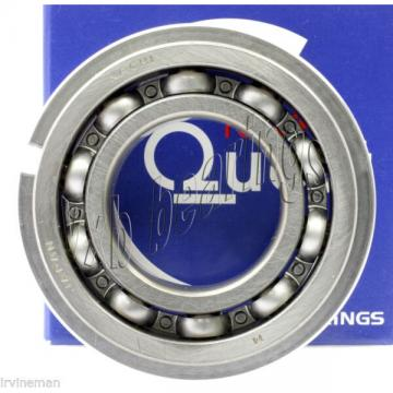 6204NR Nachi Open C3 Snap Ring 20x47x14 20mm/47mm/14mm Japan Ball ball Bearings