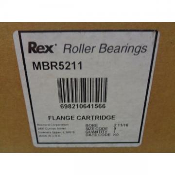 REXNORD MBR-5211 FLANGE CARTRIDGE BORE 2 11/16