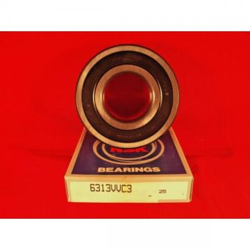 NSK 6313VV C3, 6313 VV Single Row Deep Groove Radial Ball Bearing (SKF, NTN, FAG